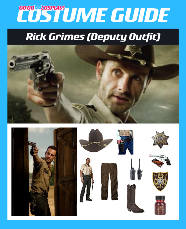 DIY Rick Grimes TWD Season 1 Deputy Costume Guide  sc 1 st  Go Go Cosplay! & Rick Grimes Costume Ideas - DIY Guide for Cosplay u0026 Halloween