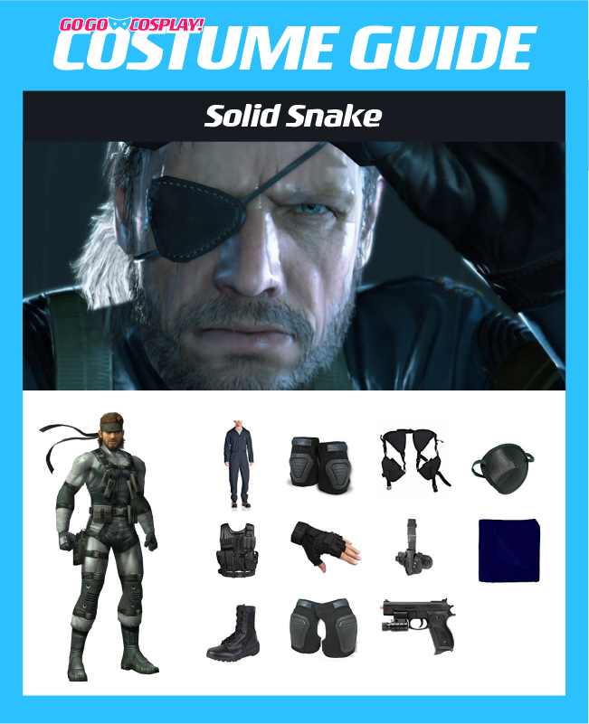 DIY Solid Snake Costume Guide  sc 1 st  Go Go Cosplay! & Solid Snake Costume - DIY MGS Guide for Cosplay u0026 Halloween