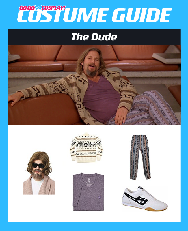 The Dude Costume from the Big Lebowski - DIY Cosplay Guide 4985b4896