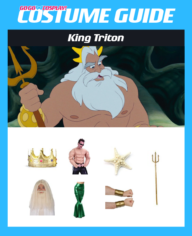 King Triton Costume DIY Guide for Cosplay and Halloween  sc 1 st  Go Go Cosplay! & King Triton Costume Ideas - DIY Guide for Cosplay u0026 Halloween
