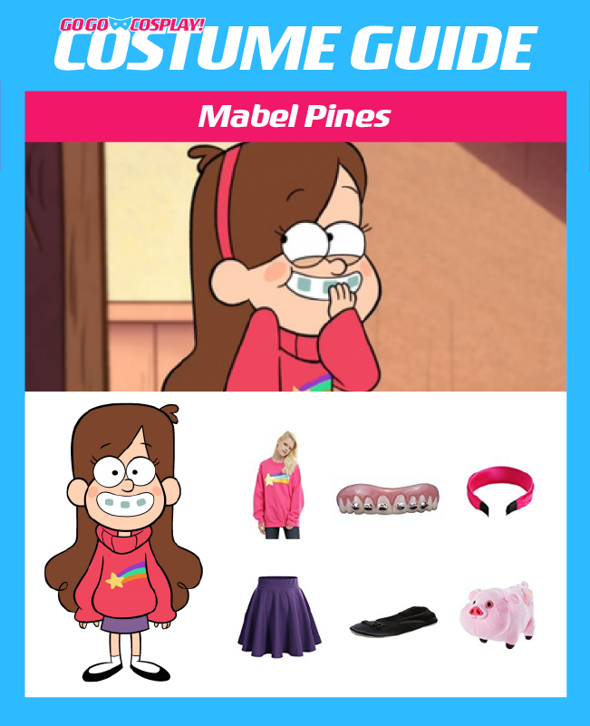 mabel pines costume with sweater diy guide for cosplay and halloween