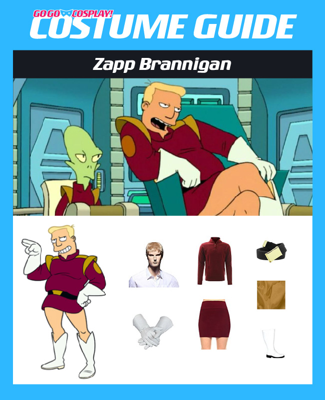 Zapp brannigan costume from futurama diy cosplay guide zapp brannigan costume diy guide for cosplay halloween solutioingenieria Choice Image