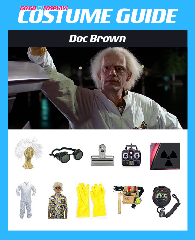 Doc Brown Costume