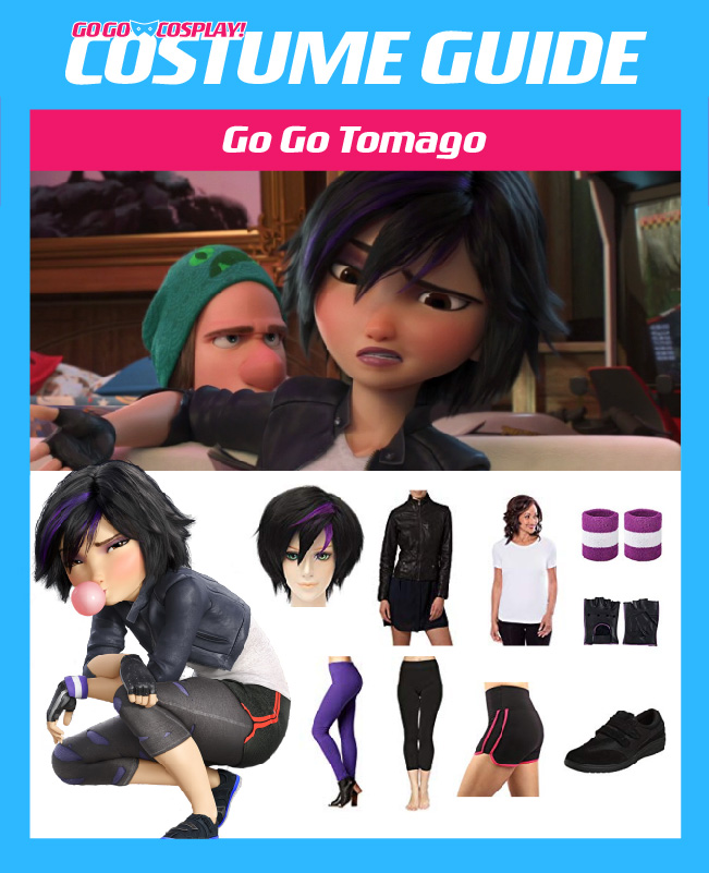 Go Go Tomago Costume - DIY Guide for Cosplay   Halloween 8fe3b7f11c