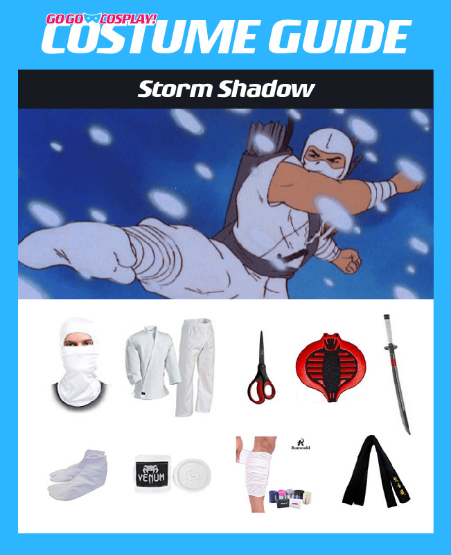 Storm Shadow Costume Diy Cosplay With Mask Boots Swords