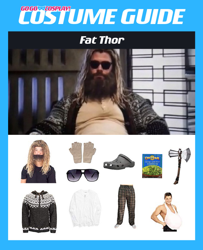 Fat Thor Costume From Endgame Diy Guide For Cosplay