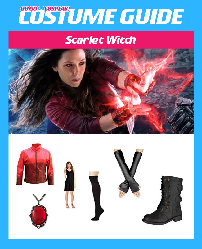 Scarlet Witch Costume Guide Diy Cosplay Halloween Outfit
