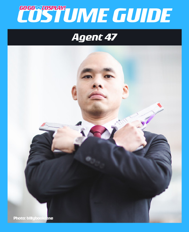 Agent 47 Hitman Costume Guide Diy Cosplay Halloween Ideas