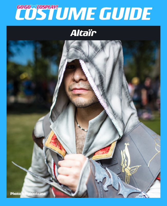 Authentic Assassin S Creed Costume Altair Cosplay With Hood Robe