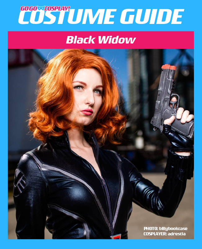 Black Widow Costume Guide Diy Avengers Cosplay Halloween