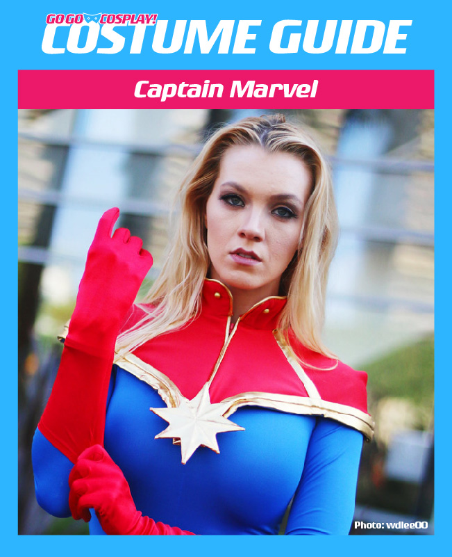 Captain Marvel Costume Guide Diy Cosplay Halloween Ideas Captain marvel cosplay carol danvers cosplay costume top level. captain marvel costume guide diy