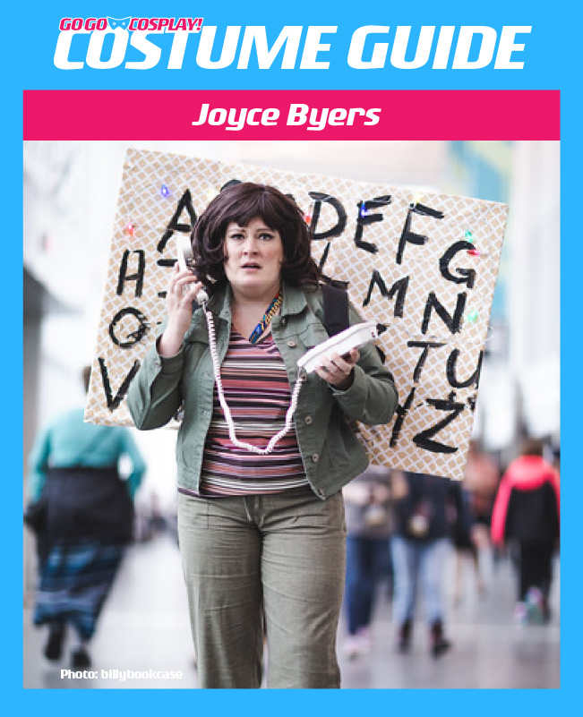 Joyce Byers Costume Guide Diy Cosplay With Wig And Jacket