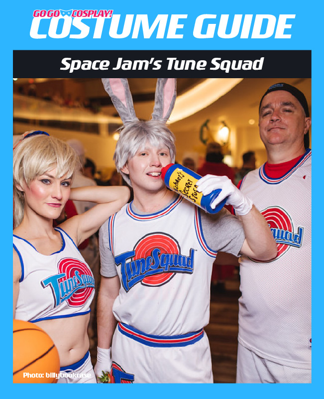 Space Jam Costume Guides Mj Bugs And Lola Tune Squad Jersey