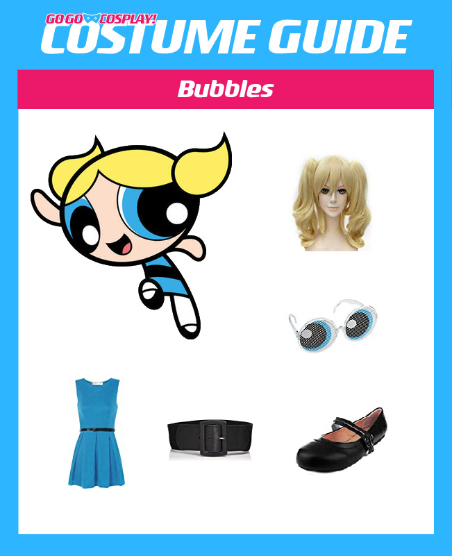 Powerpuff Girls Costume Diy Blossom Buttercup Bubbles Cosplay